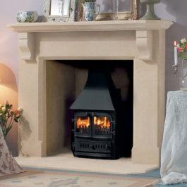 The Ablington Stone Fireplace