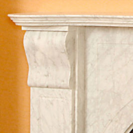 The Adelaide Marble Fireplace