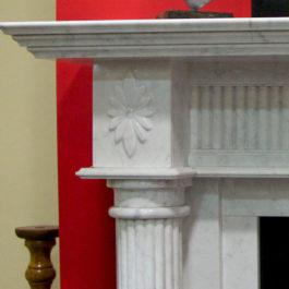Alexandria Marble Fireplace