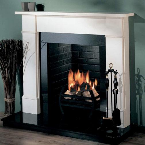 Ariel Marble Fireplace