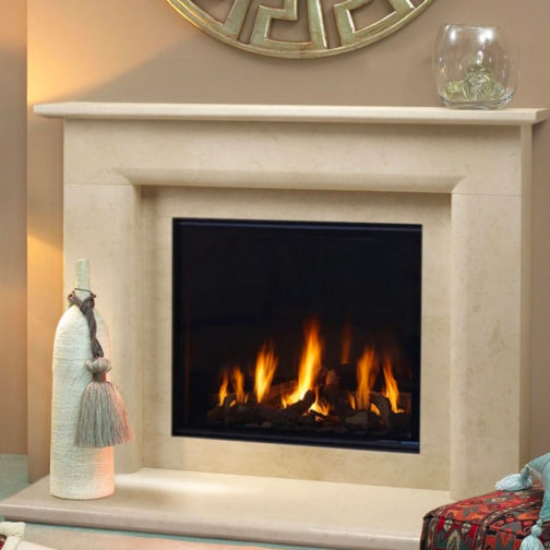 Arizona Marble Fireplace