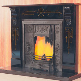 The Bombay Slate Fireplace