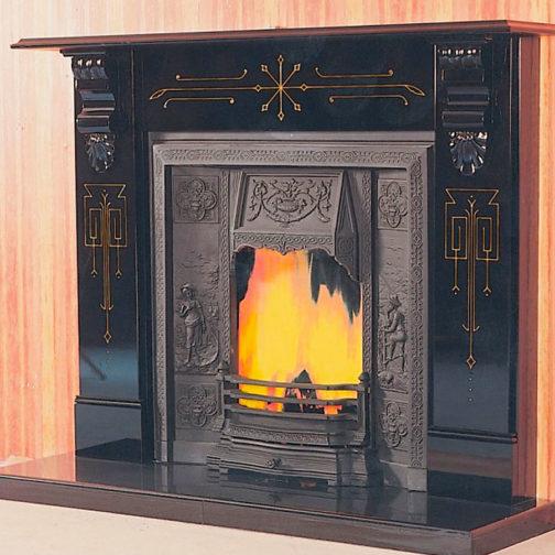 The Bombay Slate Fireplace