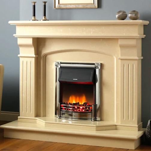 Bridge Marble Fireplace