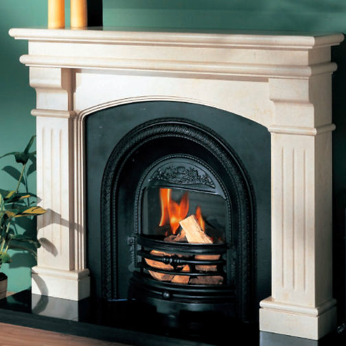 Bridge Grande Marble Fireplace