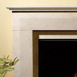 California Marble Fireplace