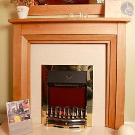 Denver Wooden Fireplace