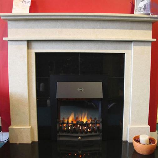 Donatello Renoir Marble Fireplace