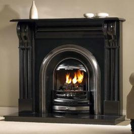 The Dublin Corbell Granite Fireplace