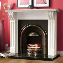 The Dublin Corbell Marble Fireplace