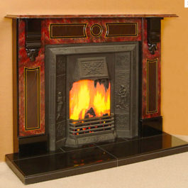 The Durban Slate Fireplace