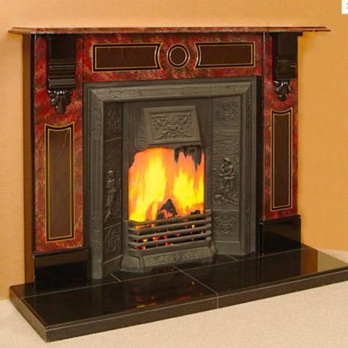 The Durban Slate Fireplace
