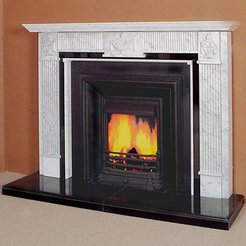The Georgian Marble Fireplace