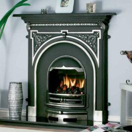Large Tara Cast Iron Fireplace