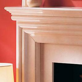 Leonardo De Luxe Marble Fireplace