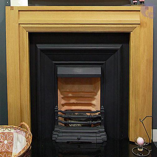 Lisbon Wooden Fireplace
