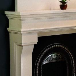 Lyon Marble Fireplace