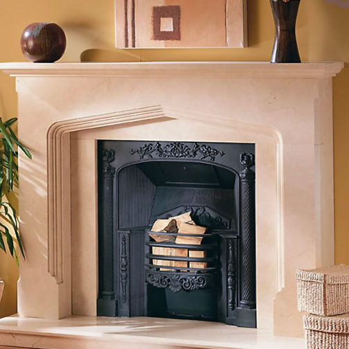 Miguel Marble Fireplace