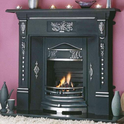 New Fern Cast Iron Fireplace
