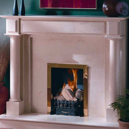 Rembrandt Marble Fireplace