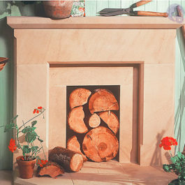The Shipton Stone Fireplace