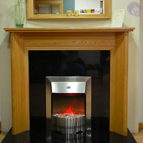 Sienna Wooden Fireplace
