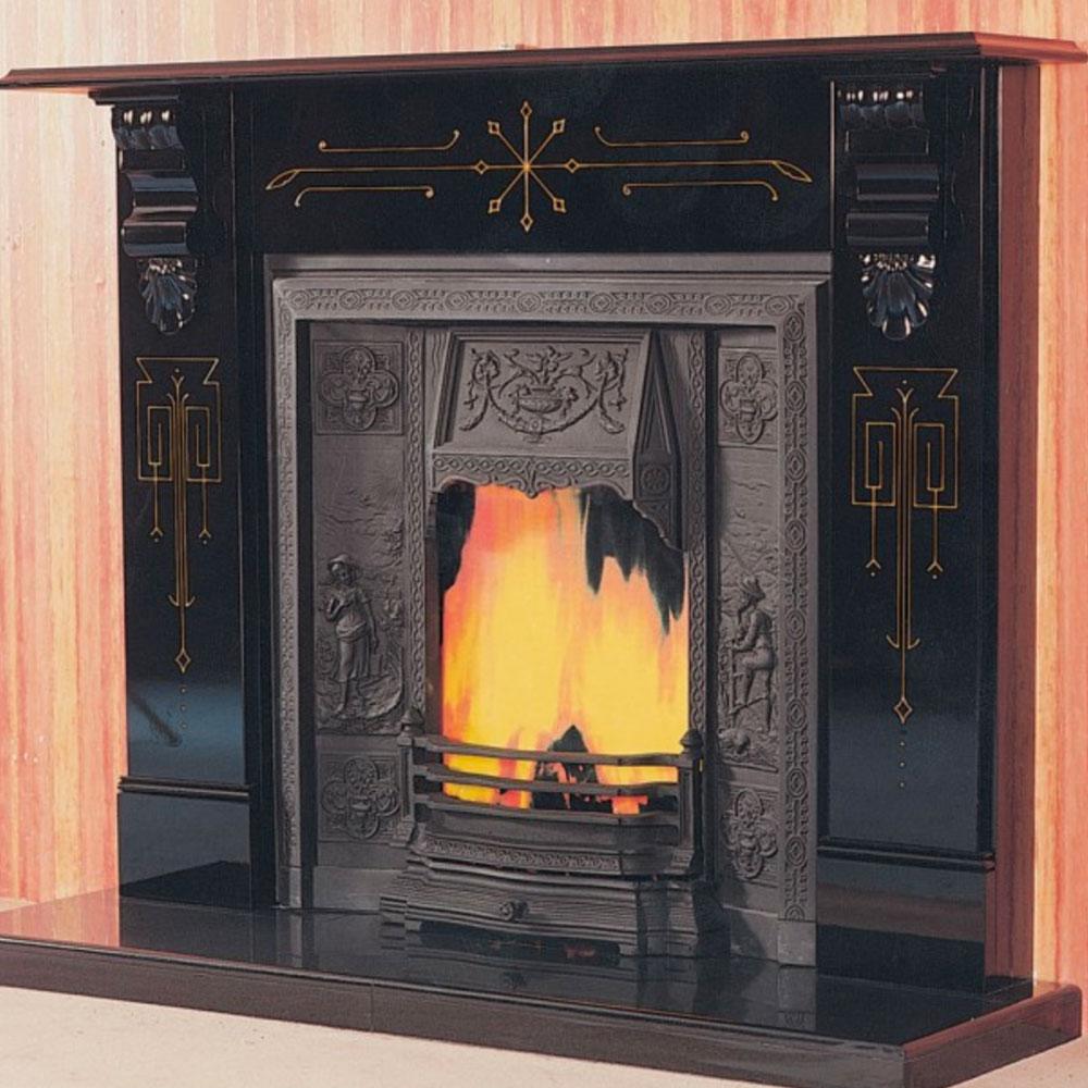 Slate Fireplaces