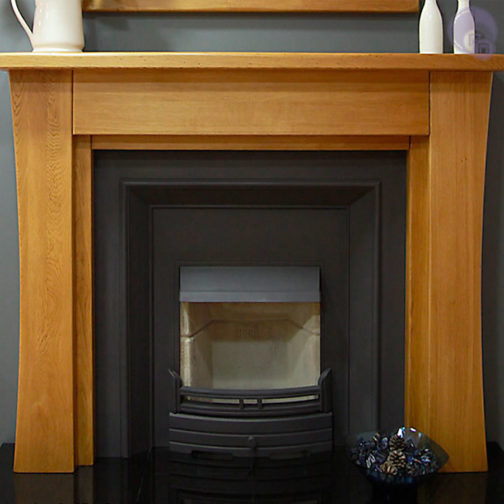 Sofia Wooden Fireplace