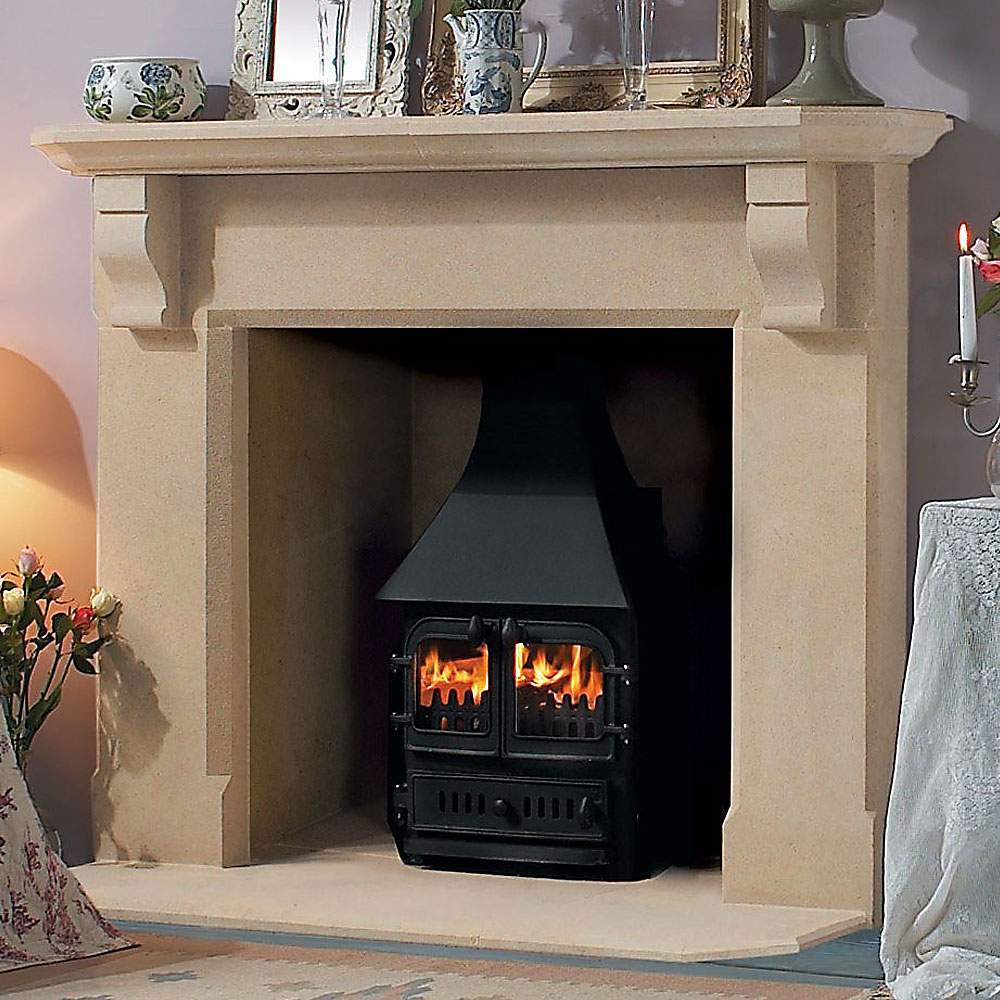 Stone Fireplaces supplied by Longford Fireplaces