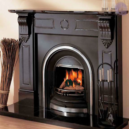 Victorian Corble Marble Fireplace