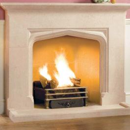 The Woodcote Stone Fireplace