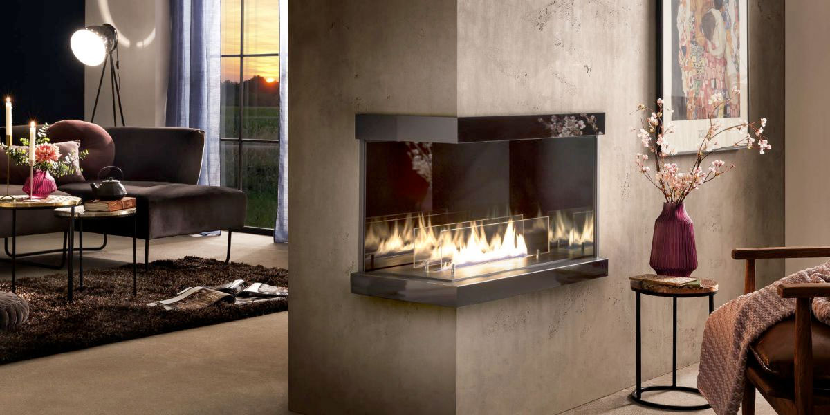 bioethanol fireplaces supplied by Longford Fireplaces