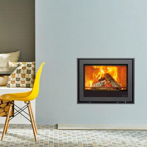 Elise Edge+ Wood Burning Inset Fires & Multi-fuel Inset Fires