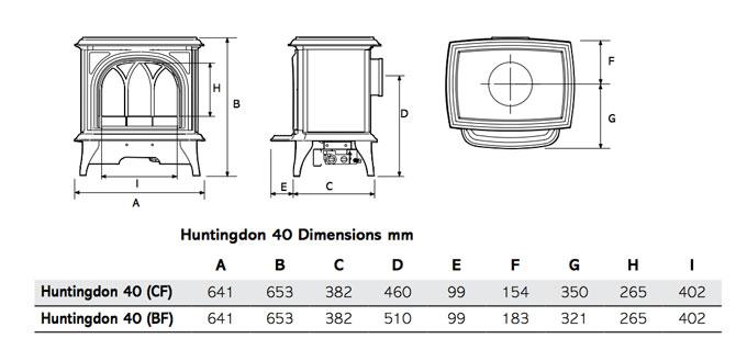 Huntingdon Gas 670px H40