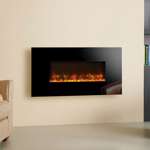 Radiance Glass Electric Fire