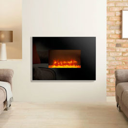 Radiance Glass Electric Fire – Wallmounted