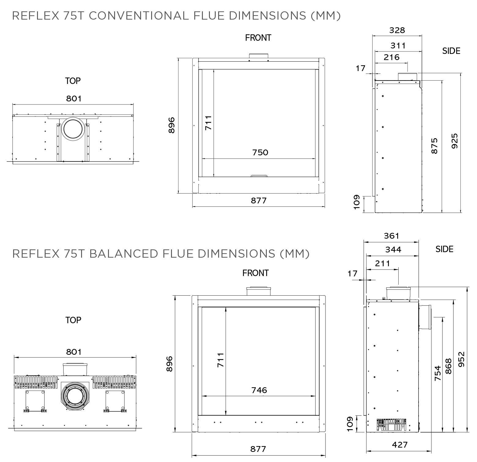 Reflex 75T Brochure REFLEXBRO1017 DIMS