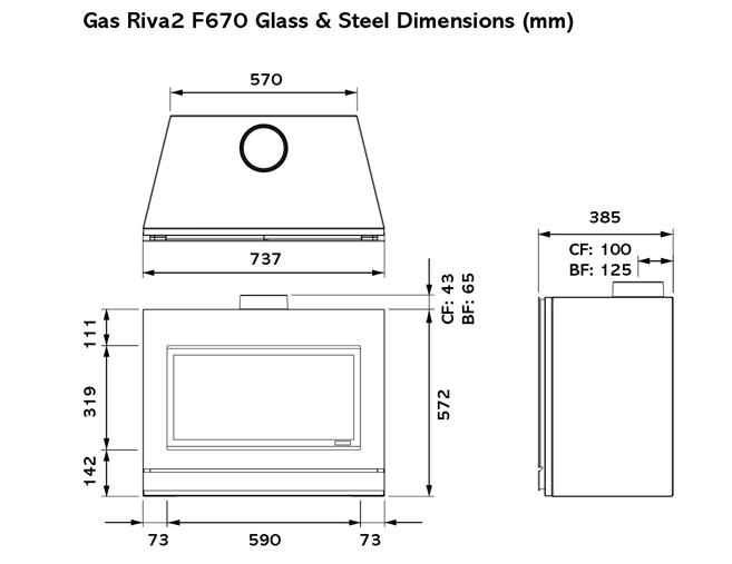 Riva2 F670 dims