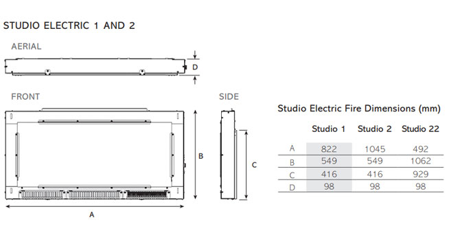 Studio Electric 12 and 3 d1