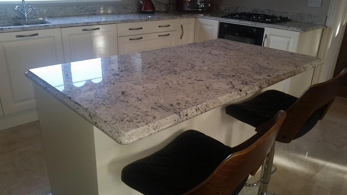 Iced White Granite